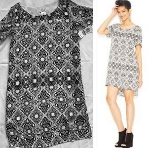 Bar III Dresses - BarIII🍉black & white print mini dress 🌼size xs